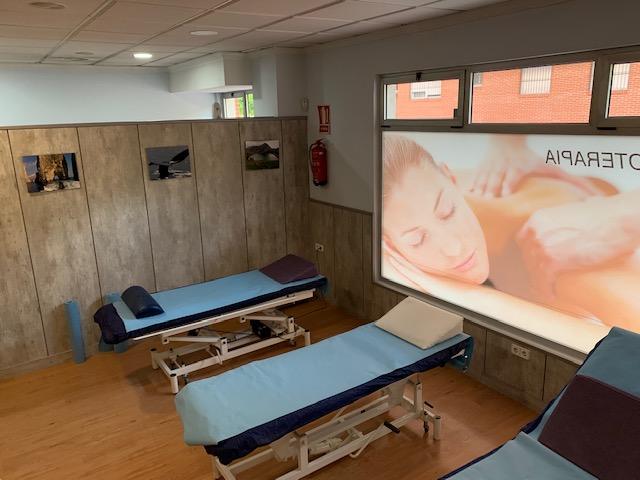 sala de fisioterapia masajes clinica san basilio murcia
