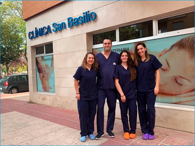equipo-clinica-san-basilio-fisioterapia